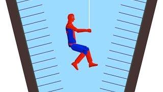 The Spiderman Challenge! (happy Wheels)