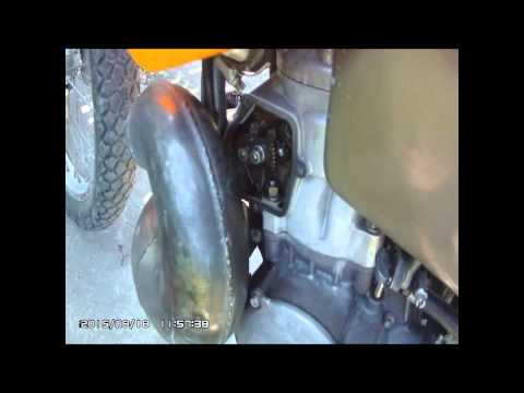 1996 ktm exc 360 power valve 2T .