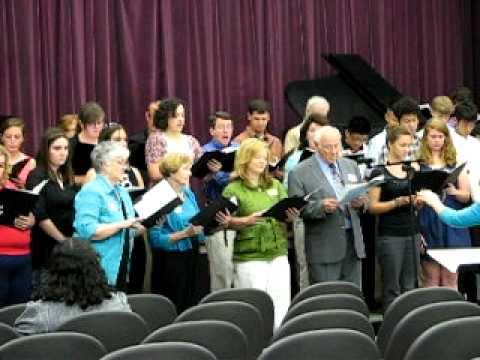 Katie Jo O'Neal sings at the Kings Academy Alumni day Saturday May 7 2011