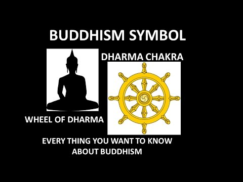 Buddhism Symbol And Its Meaningbuddhist Iconwheel Of Dharma Youtube