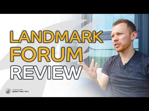 Landmark Forum Review