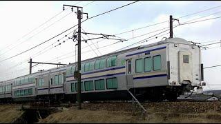 E235系グリーン車甲種サロE234-1010+サロE235-1010+サロE234-1011+サロE235-1011 DE103507牽引