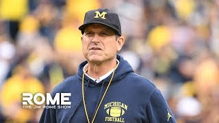 Wisconsin Loss Signals The End Of The Jim Harbaugh Era In Michigan | The Jim Rome Show