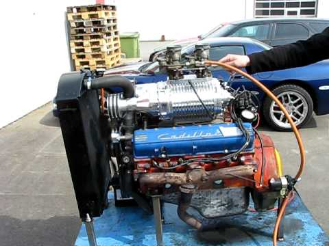 Cadillac 331 blower - YouTube