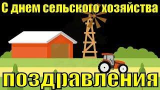 Поздравления с днем работников сельского хозяйства красивое видео поздравление 2018