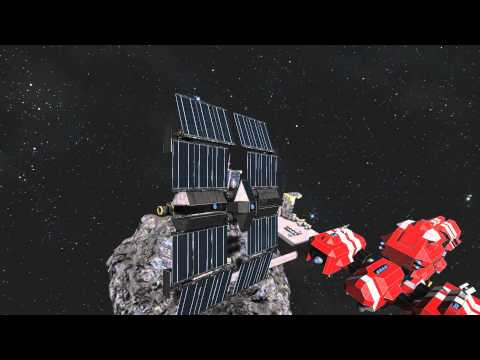 Space Engineers - Solar powered ship