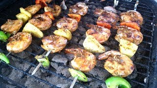Shrimp Kebabs | Taste of Trini