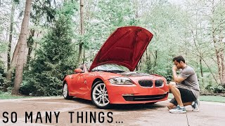 EVERYTHING WRONG WITH MY BMW Z4 AT 100,000 MILES