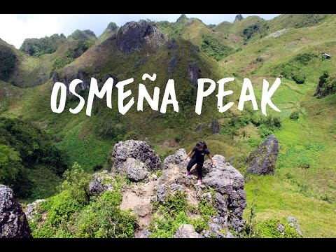 TRAVEL VLOG: Osmeña Peak (2017)