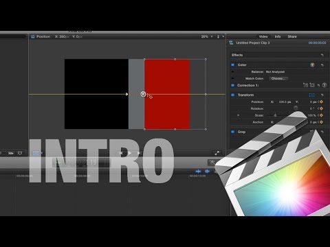 free final cut pro intro templates - fcpx 00 doovi