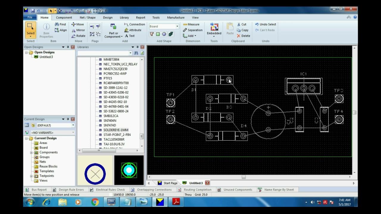 Cadstar 17 0 pcb design tutorial