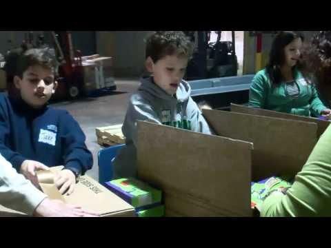 Newman School Visits SHFB  3.2.11
