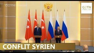 La Russie et la Turquie s'entendent pour établir une zone démilitarisée dans la