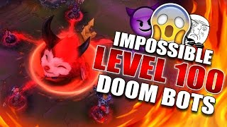 LVL 100 (HARDEST DIFFICULTY) DOOMBOTS OF DOOM (PBE) GAMEPLAY [LIVESTREAM] - League of Legends