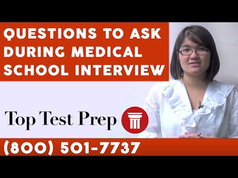Questions to Ask during Medical School Interview - TopTestPrep