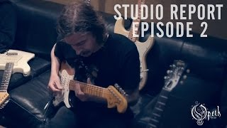 OPETH - Sorceress: Studio Report - Episode 2: Guitar Recordings Mikael
