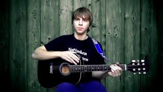 Видеоурок для начинающих! 8 Основных аккордов!