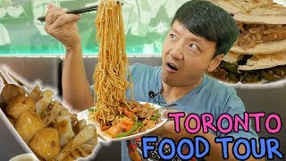 Chinese RAMEN Noodles & Pork Buns: Toronto Chinese Food Tour