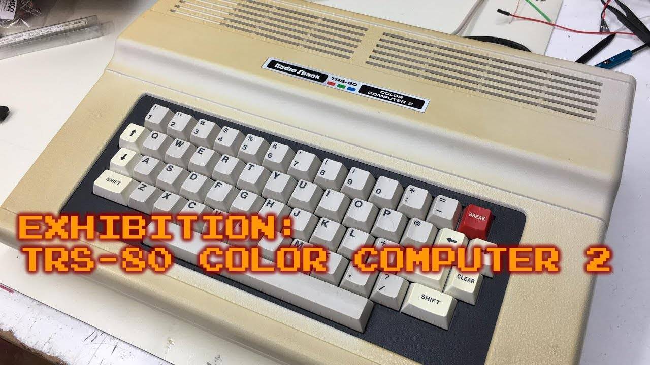 old is the new old trs 80 color computer 2 youtube