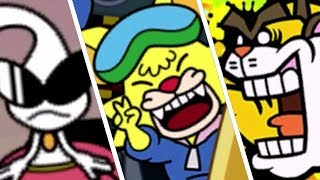 WarioWare Gold - All Victory & Losing Animations + Game Over Screens
