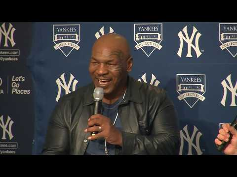 Former Heavyweight Boxing Champion Mike Tyson Interview with Brandon Steiner at Yankee Stadium