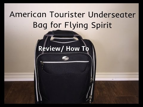 American Tourister Underseater Bag For Flying Spirit