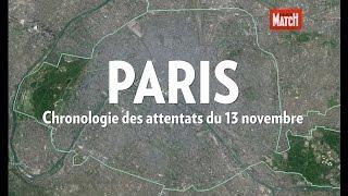 Chronologie des attaques du vendredi 13 novembre à Paris