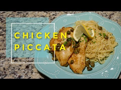Chicken Piccata | Juicy and flavorful chicken breast - the easy way!