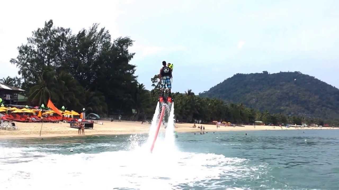 Flyboard Show in Lamai Beach,Koh Samui, Thailand( James ...