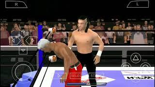 SVR NJPW 2018 PSP Texture Edit! - Jay White vs. Cody Rhodes