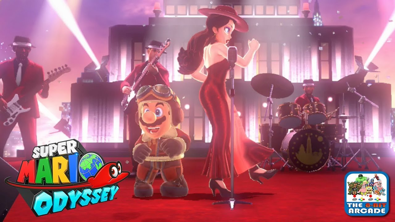 Super Mario Odyssey Celebrating In Style With Mayor Pauline Nintendo Switch Gameplay