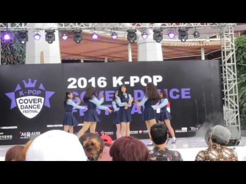 160514 AGATE cover GFriend (여자친구) - Rough 시간을 달려서 at KPop Cover Dance Festival Bandung