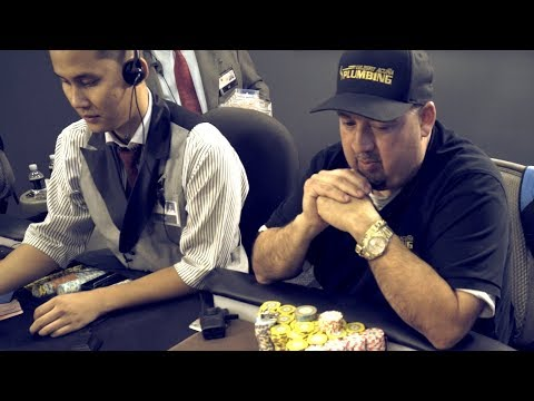 Gil The Plumber Sets The Trap With Pocket Aces ♠ Live at the Bike!