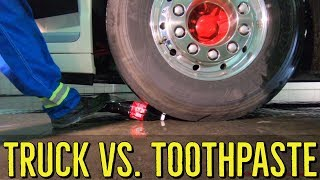 EXPERIMENT: TRUCK vs. TOOTHPASTE vs. VOLVO FH 16