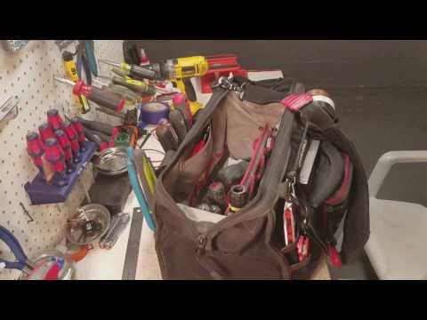 Commercial Electricians Tool Bag tour