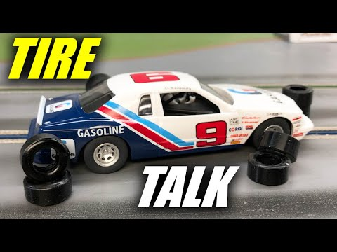 Tire Talk for Scalextric Thunderbird