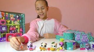 """ТОП  - РАСПАКОВКА . """"LittlestPetShopFoodFest– петы в консервных баночках от Hasbro!"""