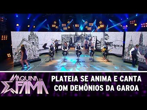 Plateia se anima e canta com Demônios da Garoa | Máquina da Fama (24/04/17)