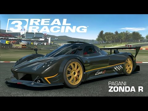 เกมส์รถแข่งสุดมัน Real Racing 3 - Pagani Zonda R,Cup, Suzuka Circuit (ipad air 2)