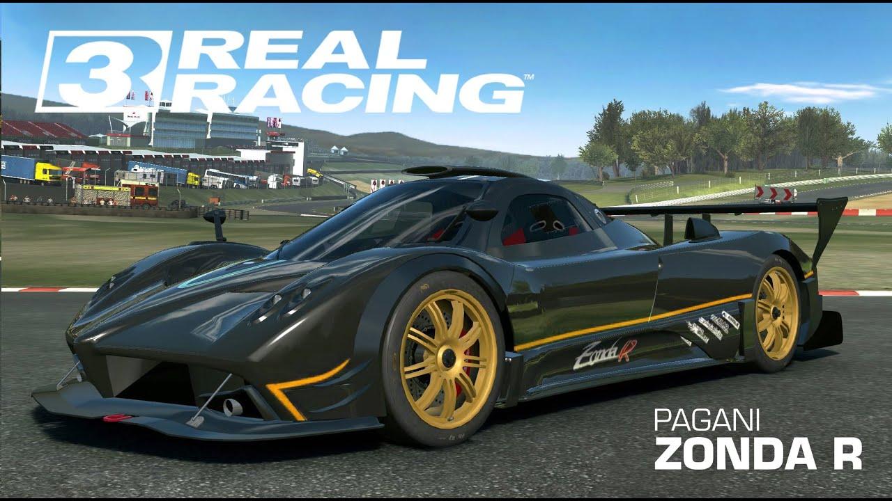 ios real racing 3 pagani zonda r cup suzuka circuit ipad air 2 youtube