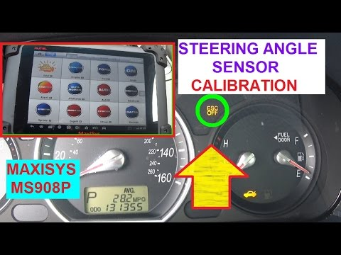 How to Calibrate Steering Angle Sensor with MS908 Demonstrated on