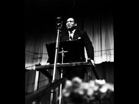 Paul Robeson — KPFA Interview, February 8 1958