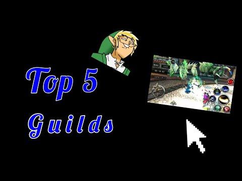 Top 5 Guilds In Avabel!!(Avabel Online)