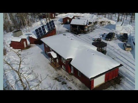 Off-grid acreage for sale west of Grande Prairie Alberta Canada