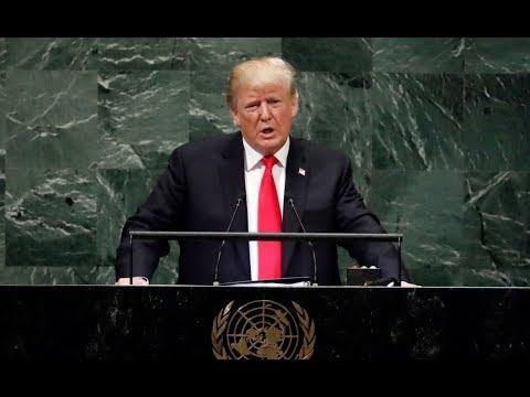 Trump tells UN General Assembly U.S. rejects 'global governance'