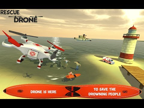 QuadCopter Drone:Emergency SIM By Play-Free-3D-Games-Studios (Game-Play Video)