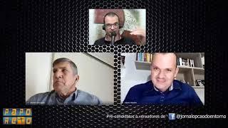 PAPO RETO - Com os pré-candidatos a vereador de Valparaíso Antonio José PDT e Ademir Valentim PRTB