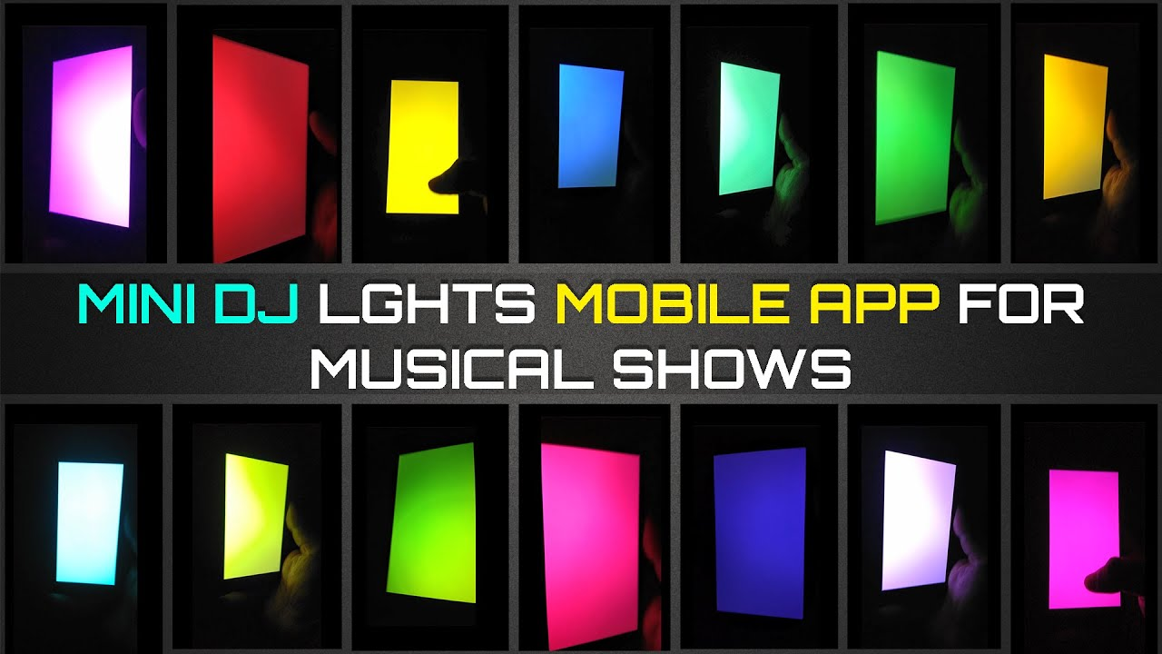 2020 Latest Disco Light App With Six Other Features Youtube