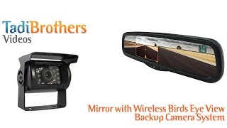 full mirror with wireless rv box backup camera systems from www tadibrothers com