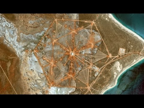 What Is This Enormous Hexagon In The Australian Desert?